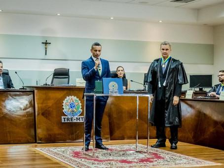O advogado Jackson Coutinho retorna ao Tribunal Regional Eleitoral de Mato Grosso e ficará no cargo