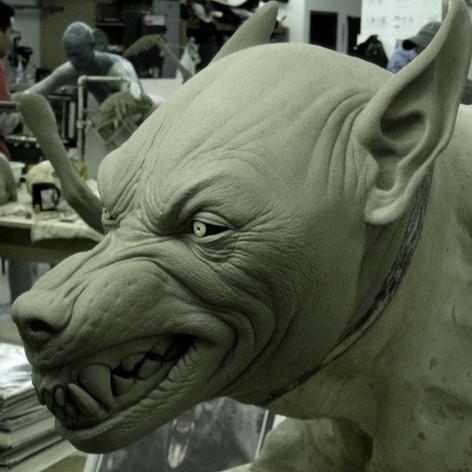 Cabin in the Woods Werewolf sculpt