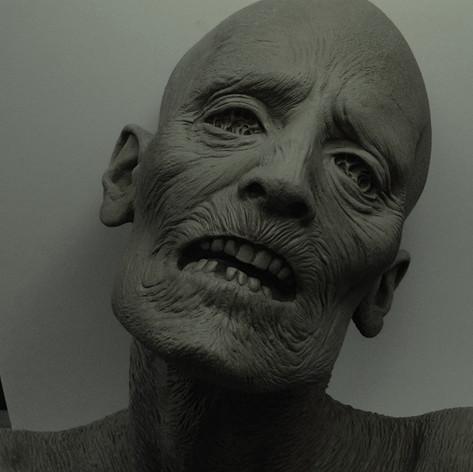 Walking Dead sculpt