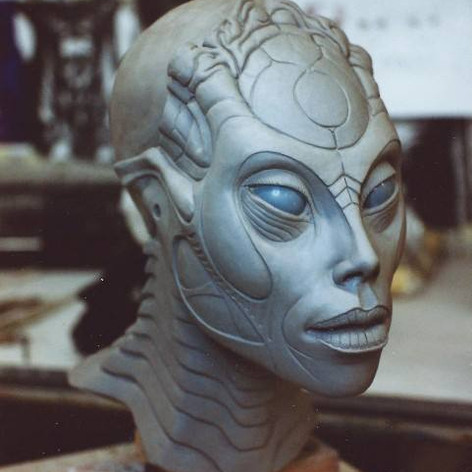 Species Sil sculpture