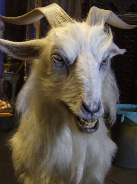 Drag me to Hell evil goat