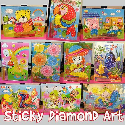 Sticky Diamond Art