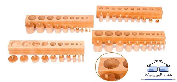 Knobbed Cylinders - Classroom Size