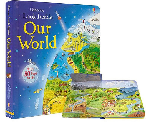 Usborne: Look Inside Our World