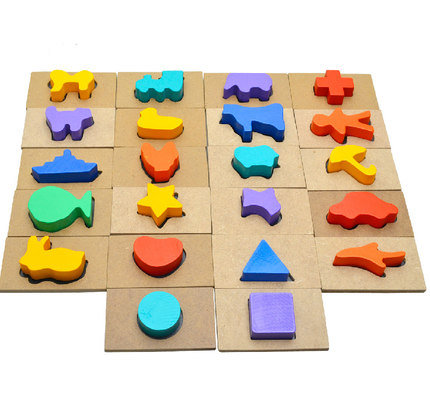 Shape and Shadow Matching Game