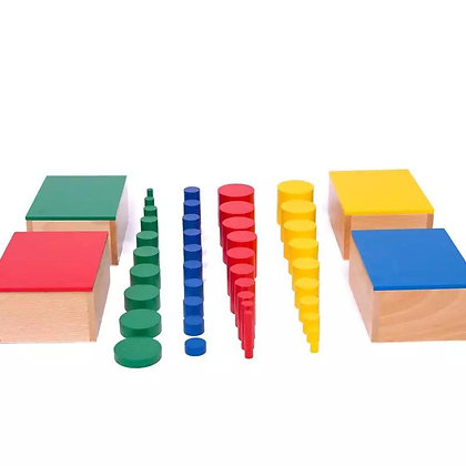 Montessori Knobless Cylinder