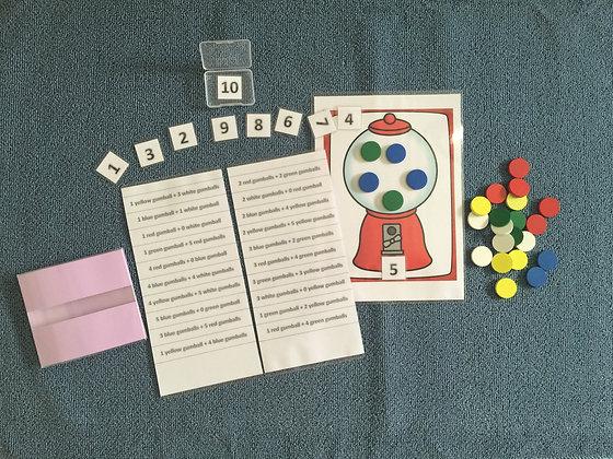 Gumball Math- Addition