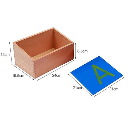 Montessori Sandpaper Capital (Classroom)