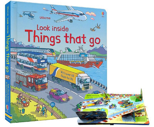 Usborne: Look inside Things that Go