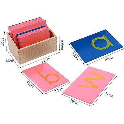Montessori Sandpaper Letter (Classroom)