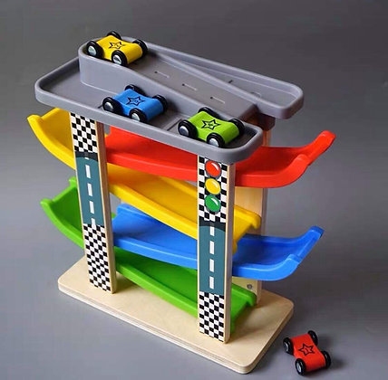 Playtive Junior Car Circuit Race Lap Toy