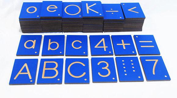 Montessori Tracing Tiles
