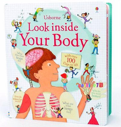 Usborne: Look Inside Your Body book