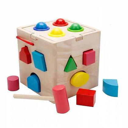 15 Shape Intelligence box with Hammer