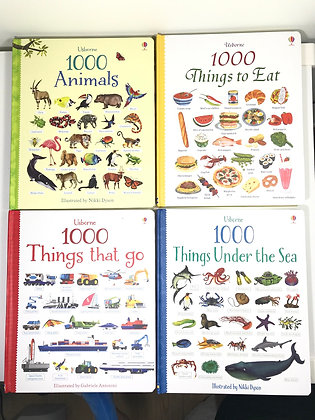 Usborne 1000 Series Book