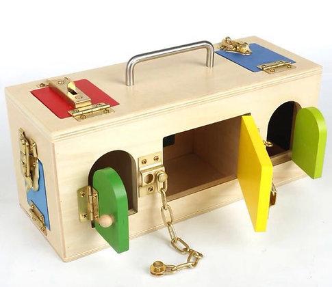 Montessori Lock/Latch Box