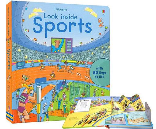 Usborne: Look inside Sports