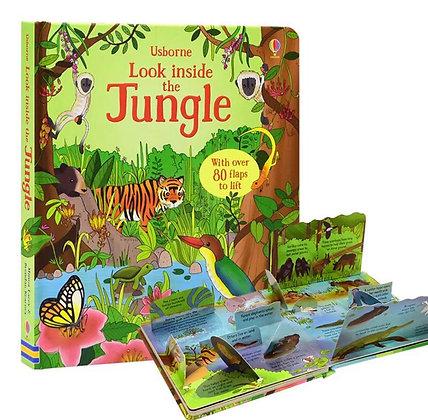 Usborne: Look Inside the Jungle