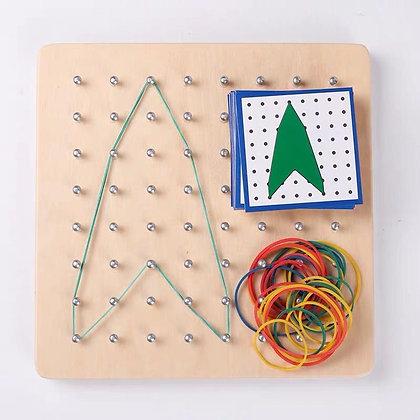 Montessori Geoboard