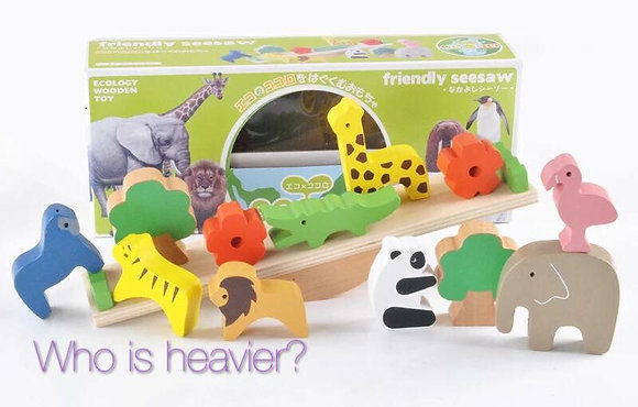 Ecology Animals Seesaw
