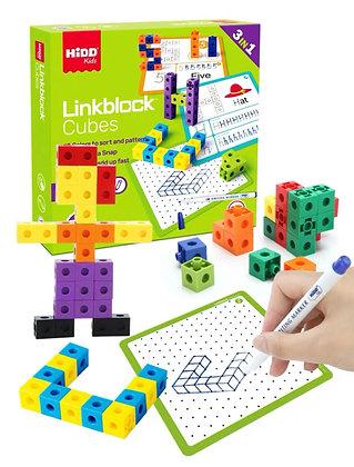3 in 1 - Linkblock Cubes