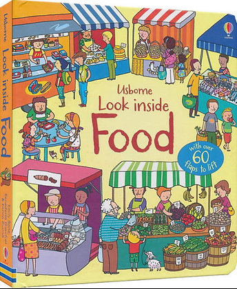 Usborne: Look Inside Food