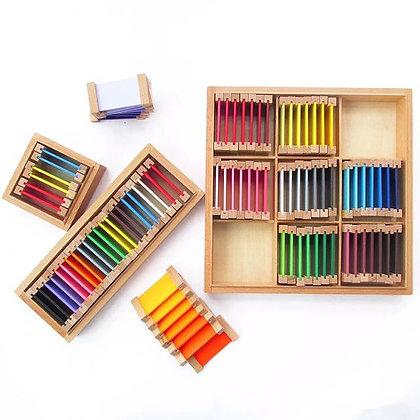 Montessori Color Tablets (Set of 3 Boxes)