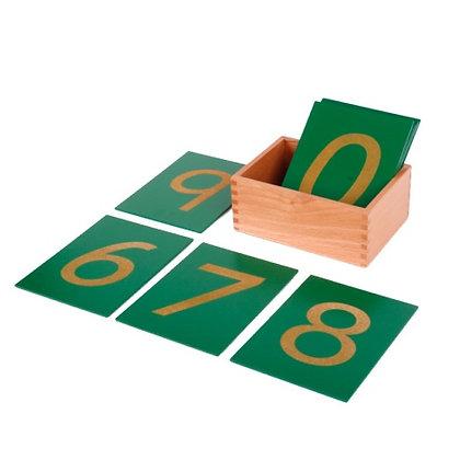 Montessori Sandpaper Numbers (Classroom)