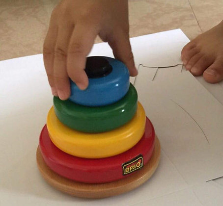 Brio stacking toy