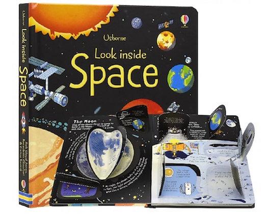 Usborne: Look Inside Space