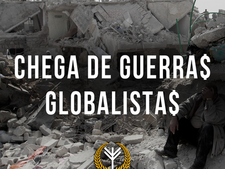 Os globalistas a favor da guerra
