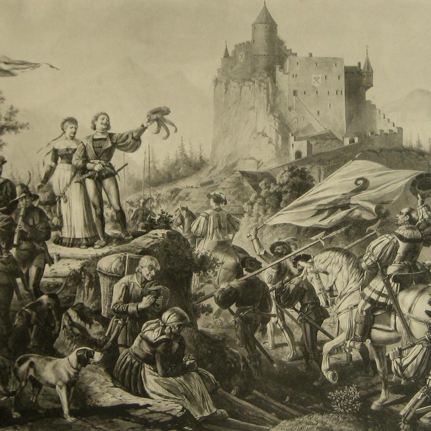 O Ramsteiner deixa seu castelo