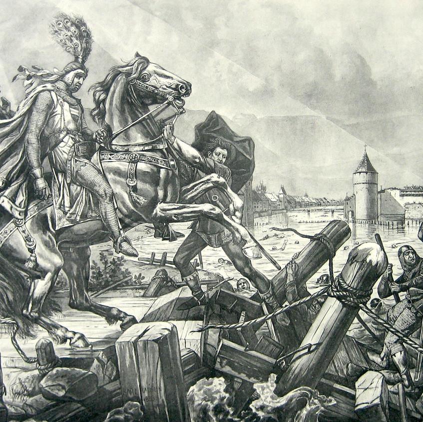 O cerco de Solothurn, 1318