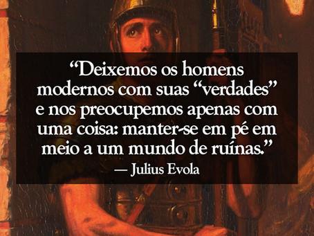 Julius Evola - As três possibilidades ainda disponíveis nos últimos tempos