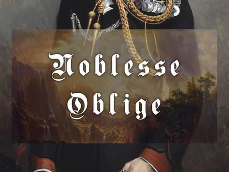 Ortega y Gasset - Noblesse Oblige