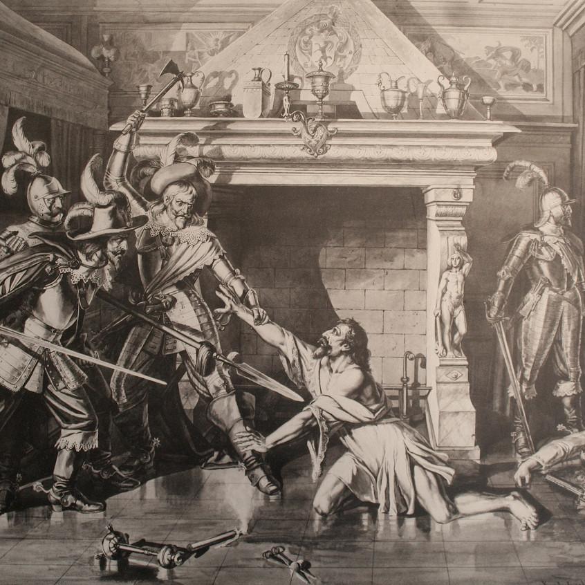 O assassinato de Pompeu Planta, 24-25. fev 1621