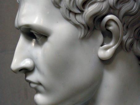 Um rosto distorcido segue uma moral distorcida