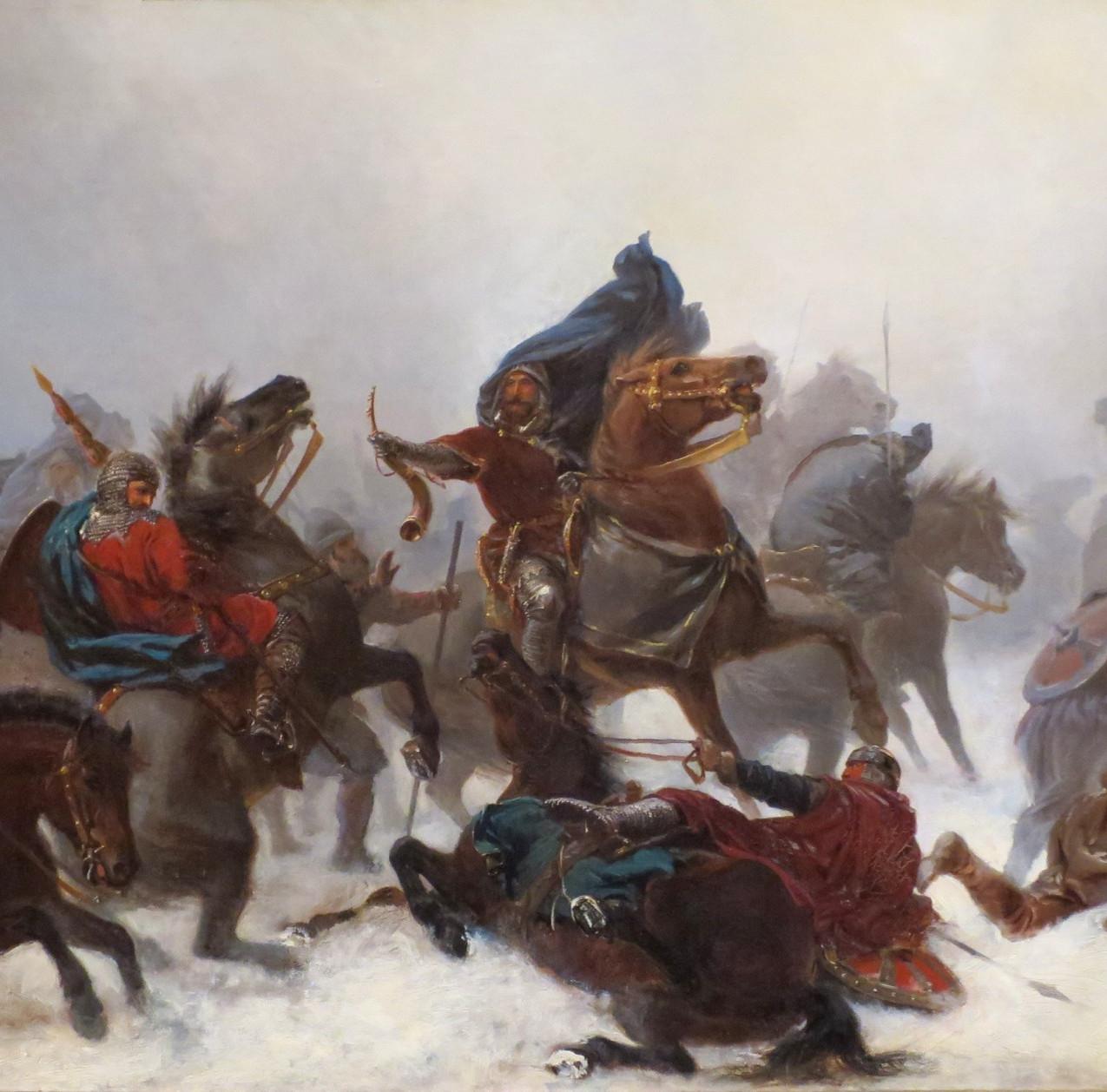 A Fuga do Rei Sverre nas Montanhas de Voss