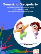 Seminário Discipularte KIDS Módulo 1 para Professores de Crianças