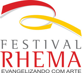 logomarca Festival Rhema EVANGELIZANDO.j