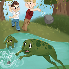The Boys and The Frogs