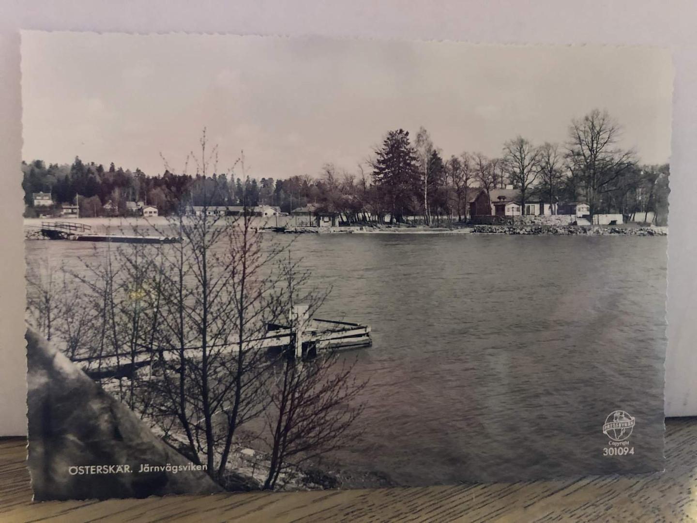 Järnvägsviken som nu heter Lindholmsviken