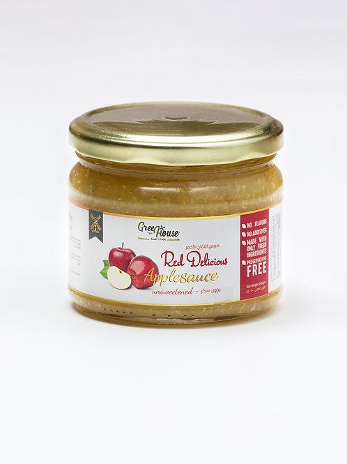 Red delicious apple sauce - صوص التفاح الأحمر