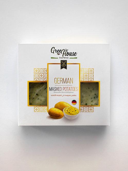 German mashed potatoes - ﺑﻄﺎﻃﺲ ﻣﻬﺮوﺳﻪ ﻋﻠﻲ اﻟﻄﺮﻳﻘﻪ اﻷﻟﻤﺎﻧﻴﻪ