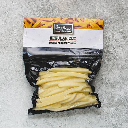 Regular Cut Potatoes Fresh - اصابع البطاطس فريش