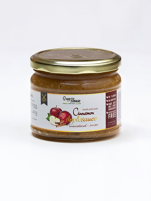 Apple sauce with cinnamon - صوص التفاح بالقرفة