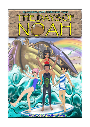 The Days Of Noah - Book Front Cover Page