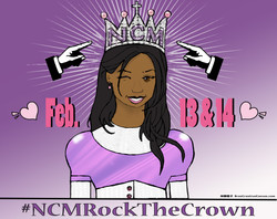 #NCMRockTheCrown campaign