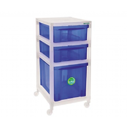 Gaveteiro Médio Azul - OR16621