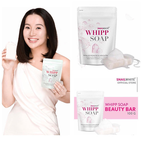 Snail White Whipp Soap